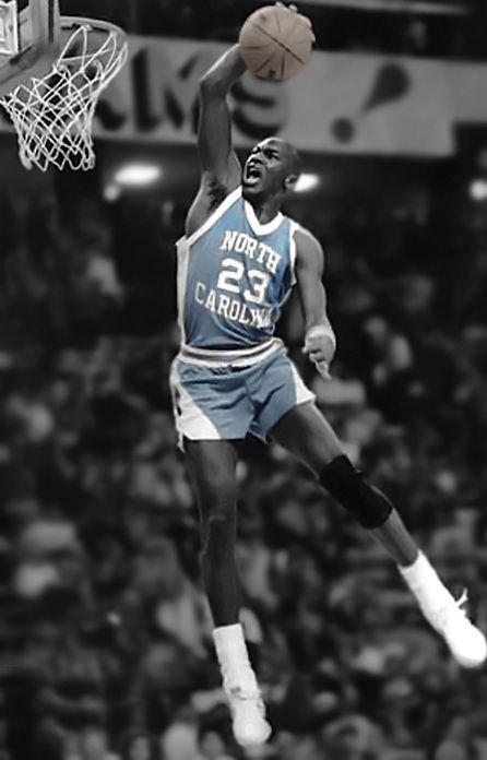 Michael Jordan In North Carolina