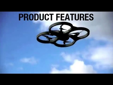 Official website: http://www.ardrone2.com  The AR.Drone 2.0 is at the crossroads where high-tech meets Icarus dream. Fly like a bird. View the earth from high above in high definition. Share your experience online with your friends.