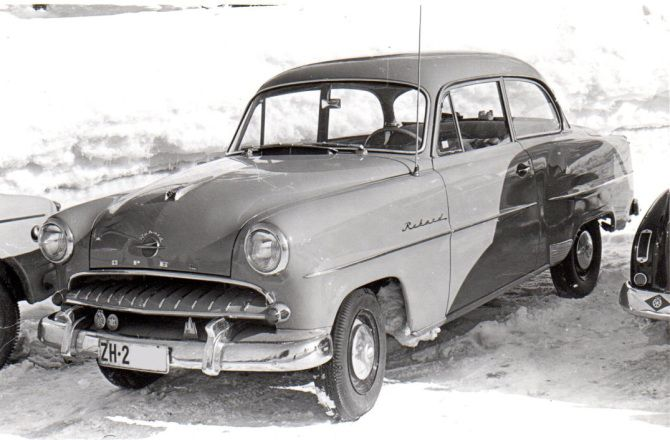 Opel Rekord Olympia 1953