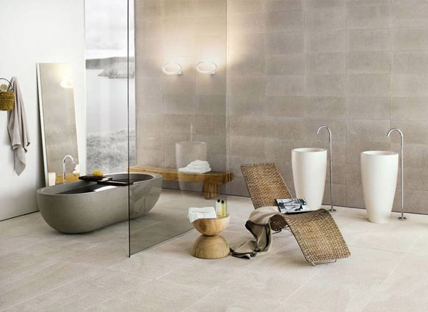 20 Exceptional and Relaxing Contemporary Bathroom Designs