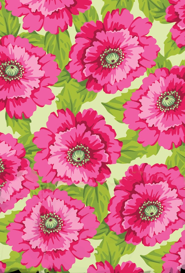 #print #prints #flower #flowers #pink #green