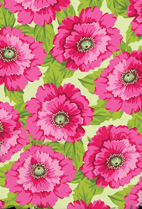 .papier peint fleuri