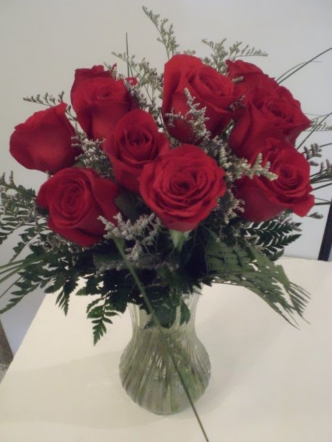 http://www.unny.com roses bouquet with vase