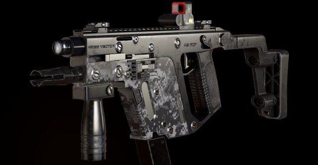 Automatic machine Kriss Vector 3D Model .max .c4d .obj .3ds .fbx .lwo .stl @3DExport.com by dmitriev3d