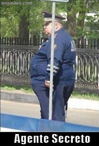 Fotos chistosas - Agente secreto