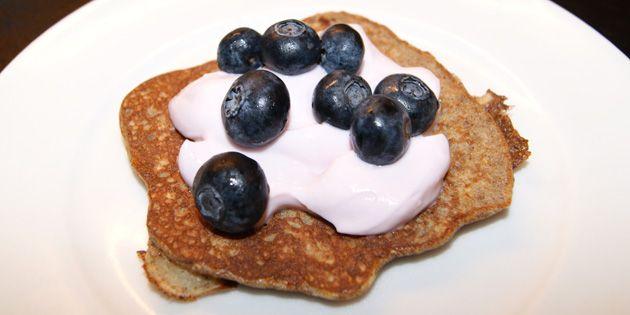 Et sundere alternativ til de gængse pandekager, og så smager de endda lidt af banankage.