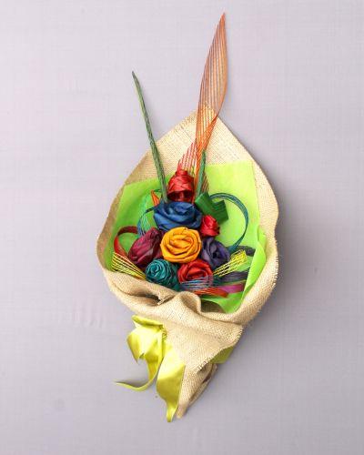 Rainbow Flax Bouquet by Artiflax