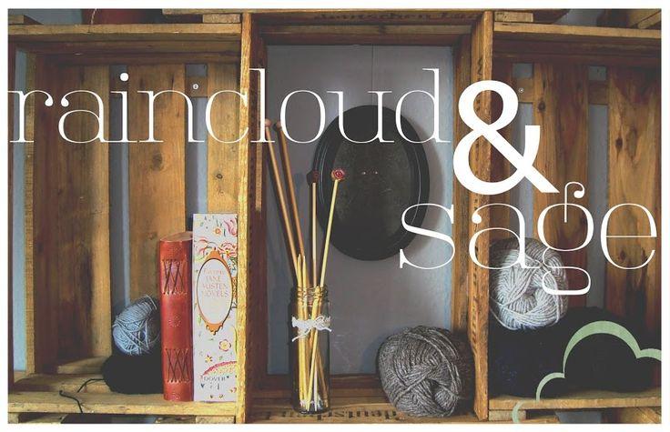 raincloud & sage: pattern: crochet cowl