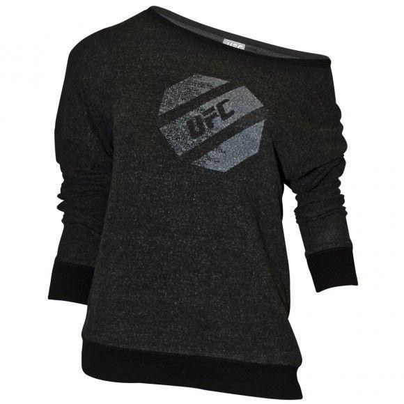 UFC Womens Off Shoulder Slouch Sweatshirt