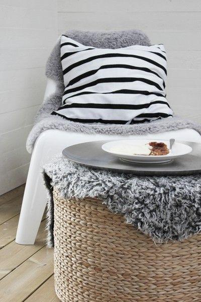 IKEA outside chair goes winter ready