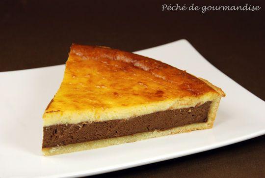 tarte chocolat citron mascarpone