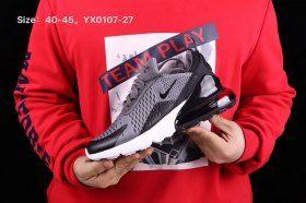 Humanized Nike Air Max 270 Wolf Grey