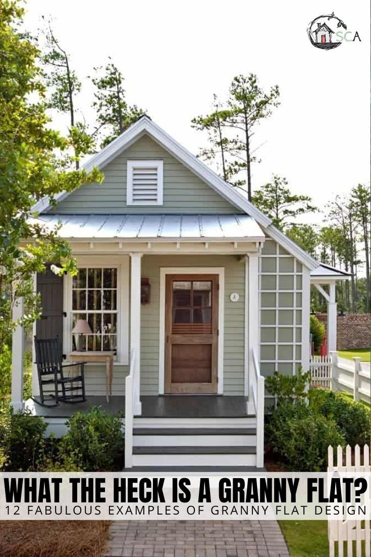 What Is A Granny Flat 12 Charming Designs Sage Cottage Architects Cottage House Exterior Small Cottage Homes Cottage House Plans