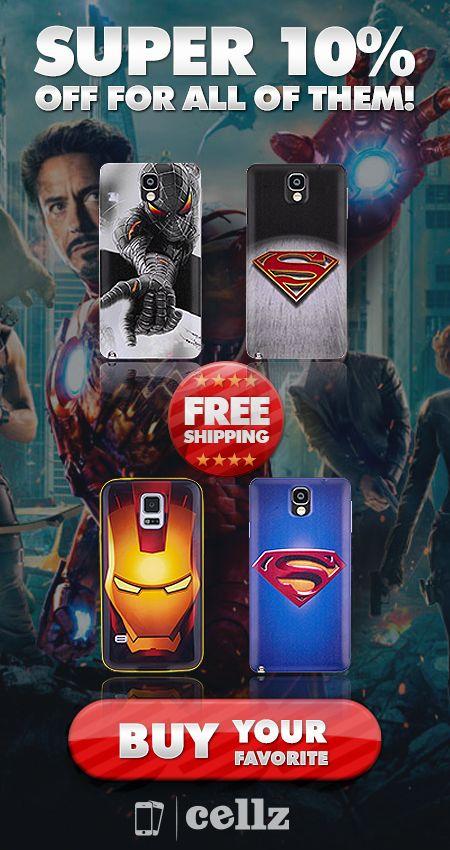 Super prices for Super Hero Cellphone Cases #superhero #cheap #cellphone #cases #cellz.com