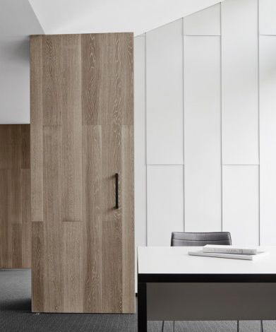 mim design | little office group | timber door
