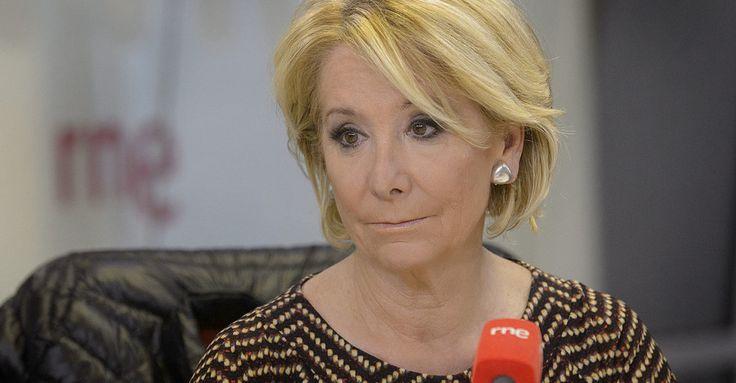 Anoche Esperanza Aguirre lloró ‹ Negratinta
