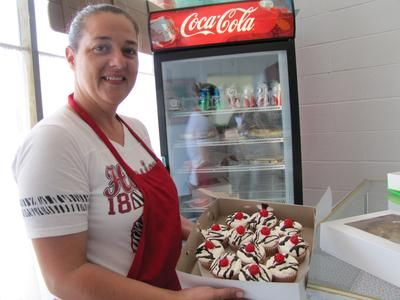 Heather Ferguson, who owns The Corner Cafe and Bakery, 839 Woodlawn Rd, Lincoln, Illinois, says she has tweaked the hours for her business and plans to host a grand opening with specials running all next week.