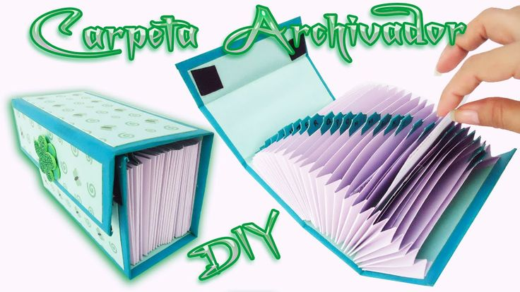 Carpeta Archivadora Scrapbook   carft   Diy / Folder o Caja archivador