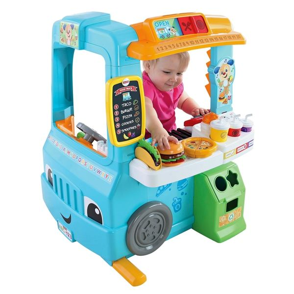 Superb Fisher-Price Laugh & Learn Servin' Up Fun Food Truck Now At Smyths Toys UK! Buy Online Or Collect At Your Local Smyths Store! We Stock A Great Range Of Development & Activity Toys At Great Prices.