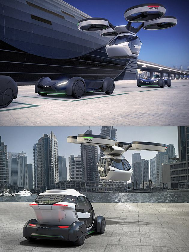 Airbus Pop.Up Flying Car and 3 More Flying Cars We Could See in the Future