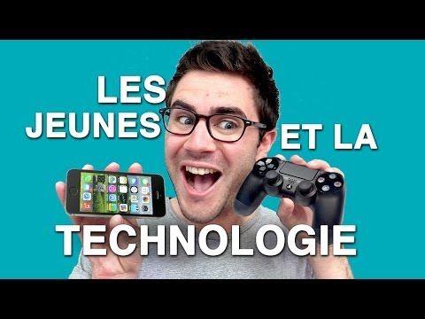 Cyprien - Les jeunes et la technologie - YouTube