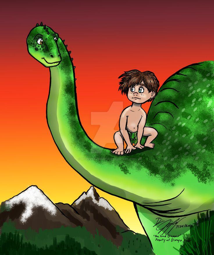 Arlo and Spot from The Good Dinosaur | The Good Dinosaur ...