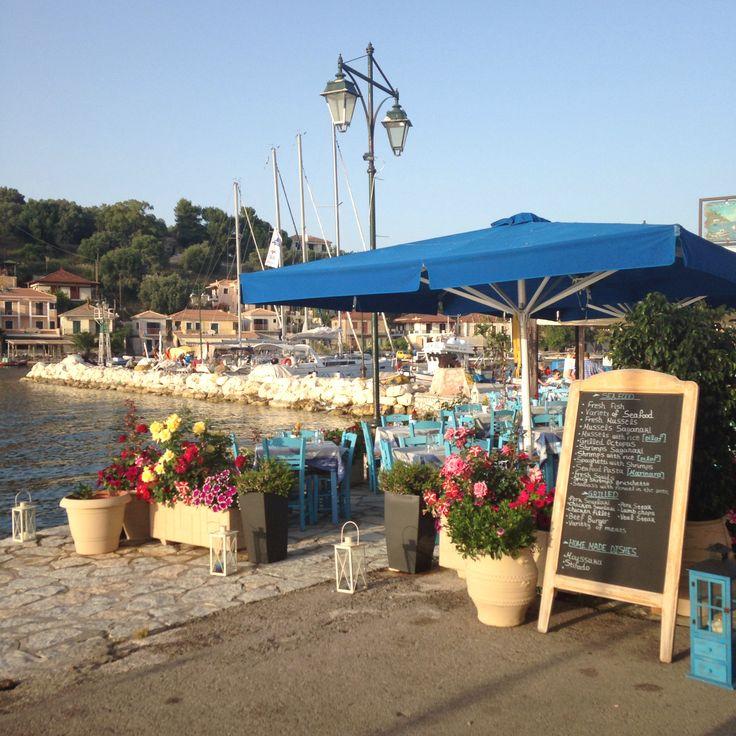 Restaurant in Meganissi, Greece