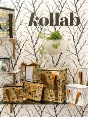The Kollab kitchen range, which is equally as stylish and practical, translates the beautiful designs onto placemats that can be wiped clean and re-used #kollab #lifeinstyle #kitchen #style