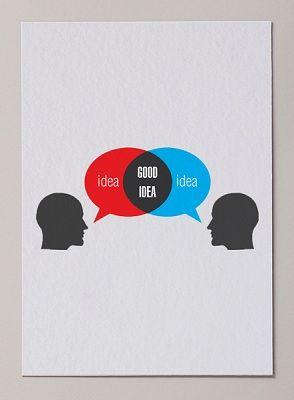 Nice venn diagram there... Good Idea visual ID by Miguel Angélus Batista at Coroflot.com