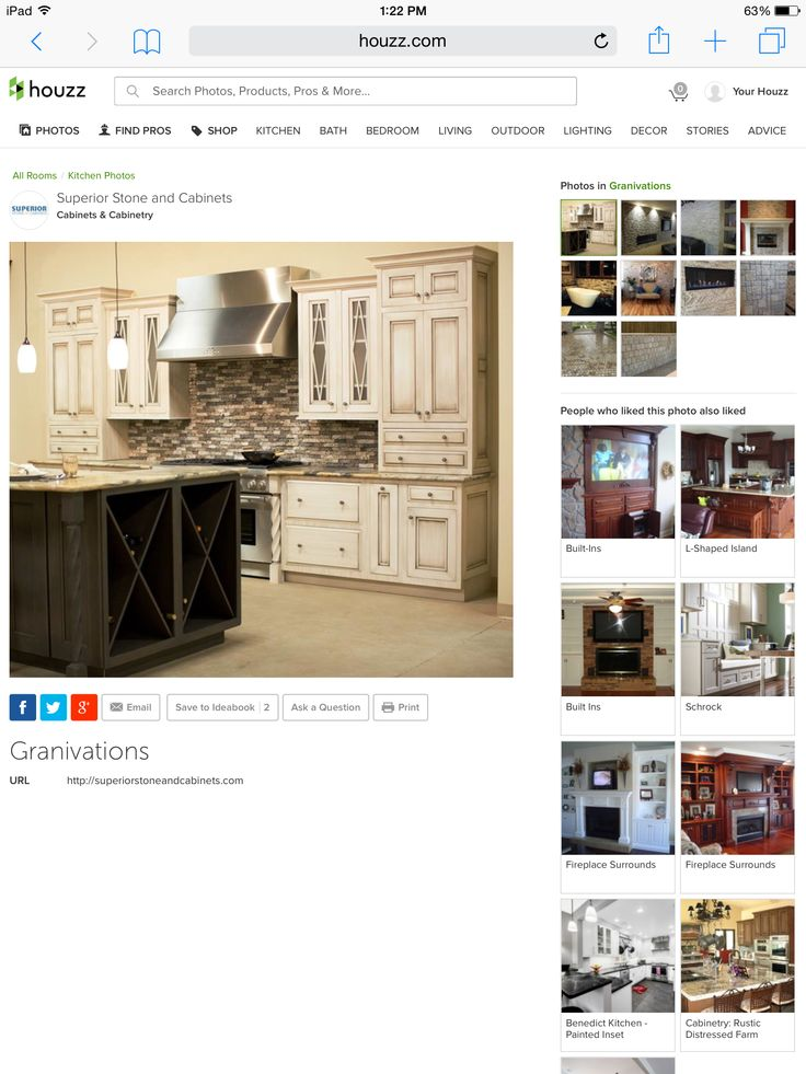 Change the counter tops and island
