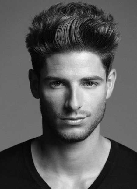 American crew hairstyle 2013 American crew hairstyle is also like a spiky hairstyle form. It's look best with the straightened hairs. Darker hair color tones also go with that amazing American crew hairstyle.