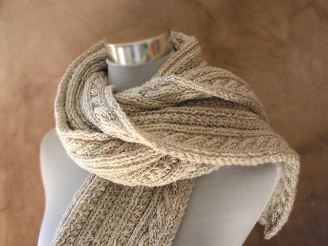 echarpe laine beige femme cda3dbadd95