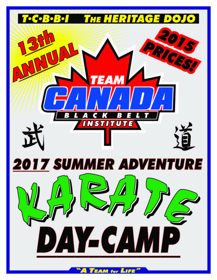 Karate Day-Camp Returns!