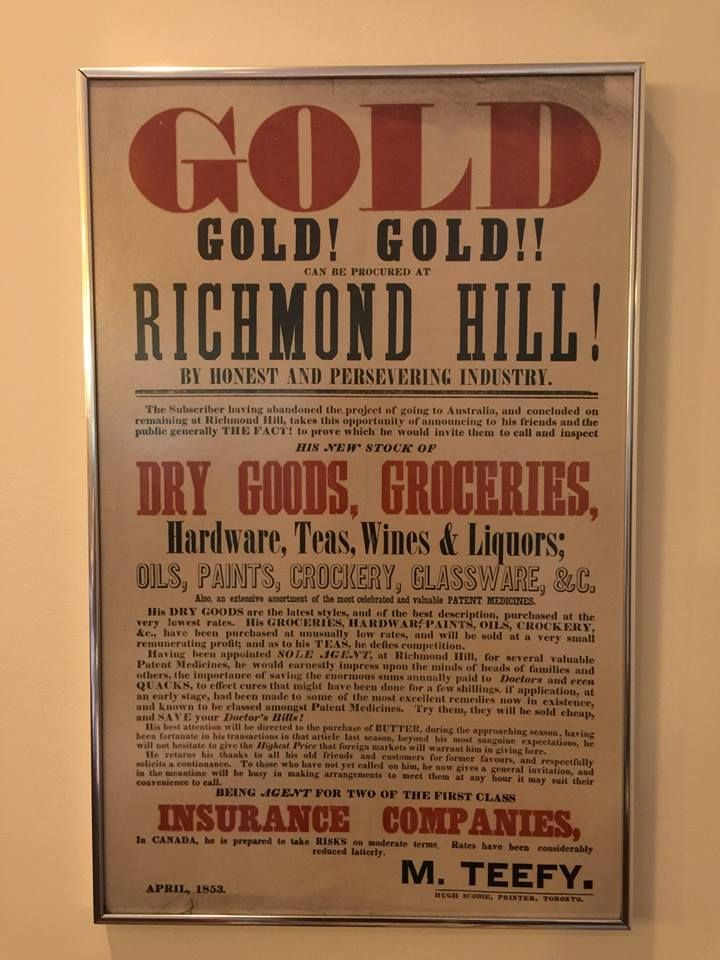 """Love the line """"By honest and persevering industry"""". #ThrowbackThursday April 1853. Gold, Gold, Gold! http://ow.ly/IxHZ2"""