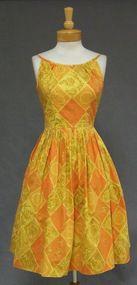 Sunny Ilene Ricky Vintage Cotton Summer Dress