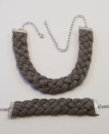 CONJUNTO GREY http://www.badoom.es/collares-y-pulseras/