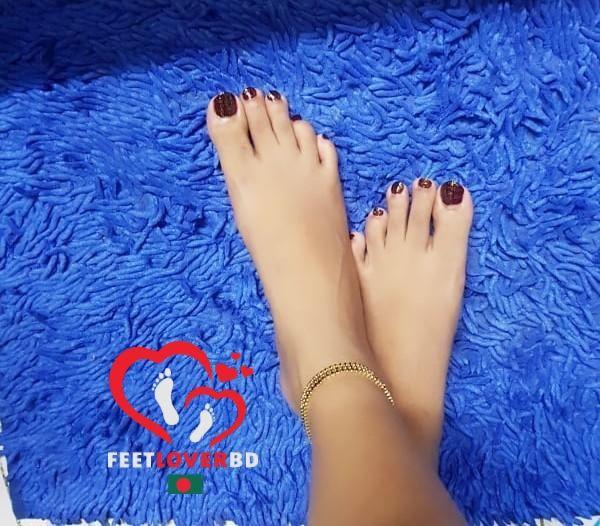 Desi girls feet
