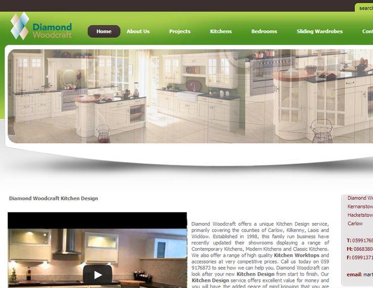 Diamond Woodcraft - web development - Brand You