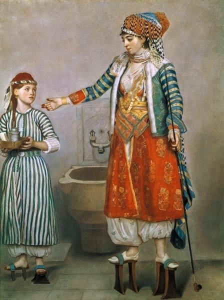Turkish woman by Liotard