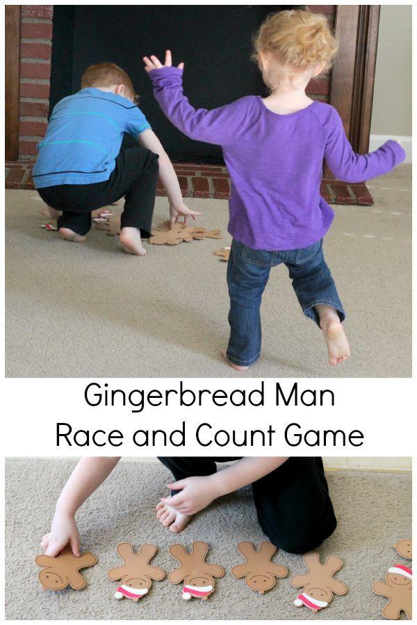 Best 25 gingerbread man games ideas on pinterest for Christmas gross motor activities