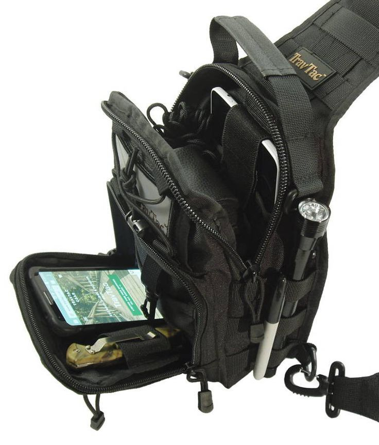 TravTac Small EDC Sling Pack... I have one and it is well made and really useful for hiking , biking , camping , Jeep Survival gear bag and more! SDV
