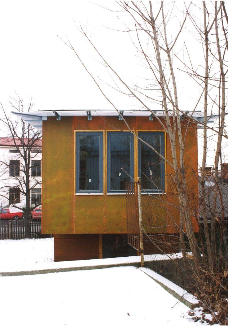 Přístavba vstupních a administrativních prostor firma Lasak   VYŠEHRAD atelier