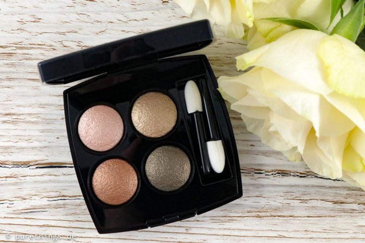 CHANEL Codes Subtils (268), Lidschatten-Palette, Les 4 Ombres, Review & Swatches - Pure Things