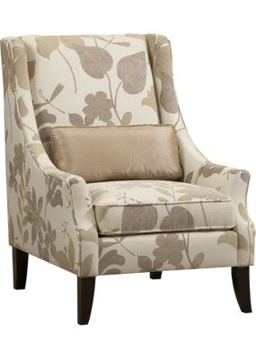 Haverty 39 S Accent Chair Custom Ordered These In A Houndstooth Fabric For