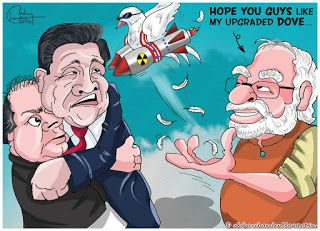 Justoon: Modi's Upgraded Diplomacy...
