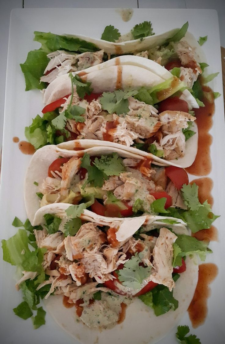 Save Print Soft Chicken Tacos Cuisine: Mexican   Ingredients 1 teaspoon chili powder ½ teaspoon salt ½ teaspoon ground cumin ½ teaspoon freshly ground black pepper …