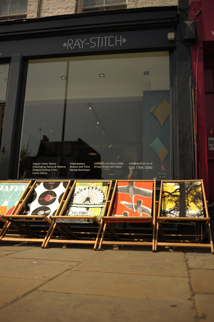 Sun chairs @ Ray Stitch