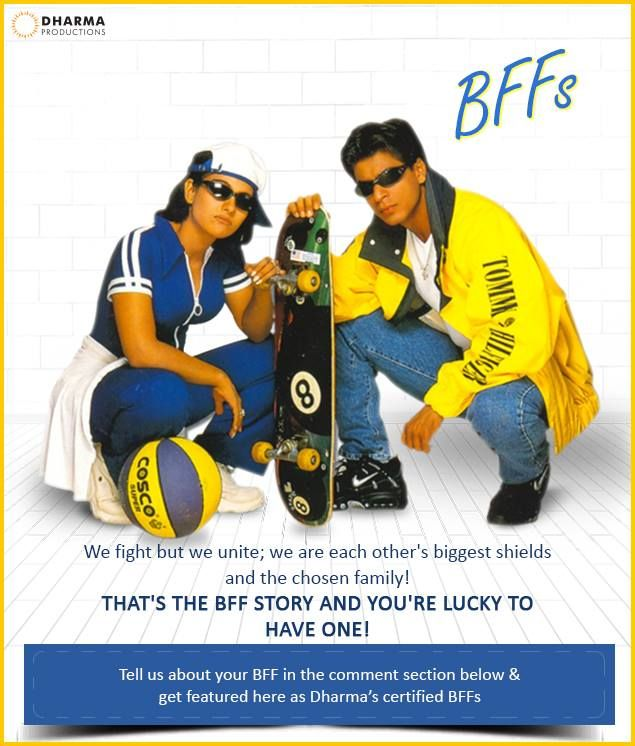 BFFs- Rahul & Anjali