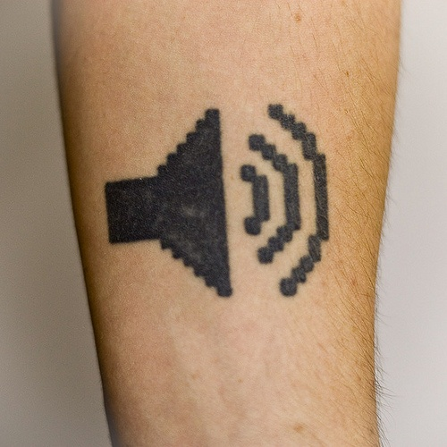 Featured in WIRED as one of the winners of their Best Geek Tattoos Contest