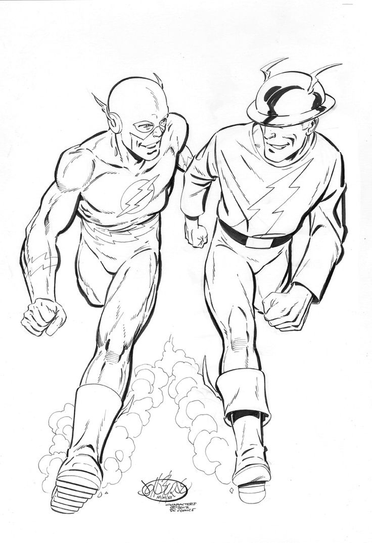 jay garrick flash coloring pages - photo#18